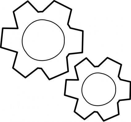 free vector Engrenages / gears