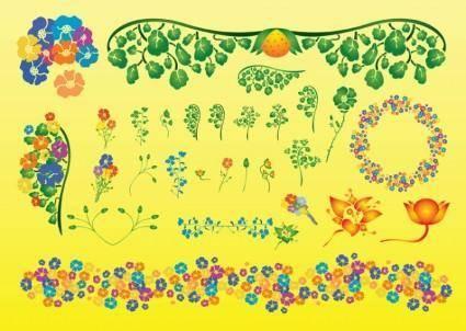Summer Plant Vectors