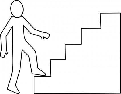 free vector Escalier / staircase