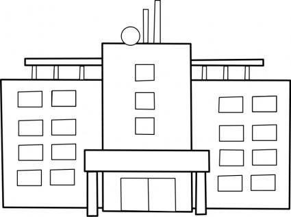 free vector Hospital / hopital