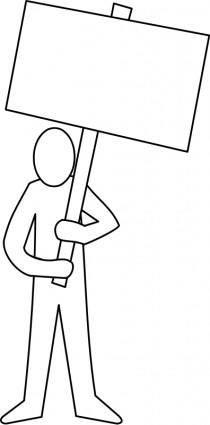 Manifestant / demonstrator