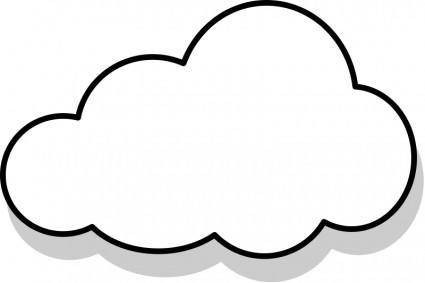free vector Nuage / cloud