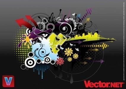 free vector Urban Design
