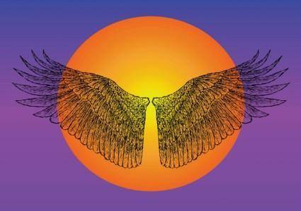 free vector Icarus Wings