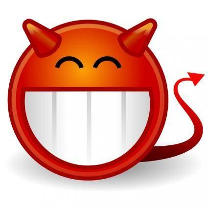 free vector Tango face devil
