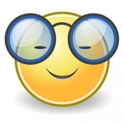 free vector Tango face glasses