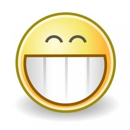 free vector Tango face grin