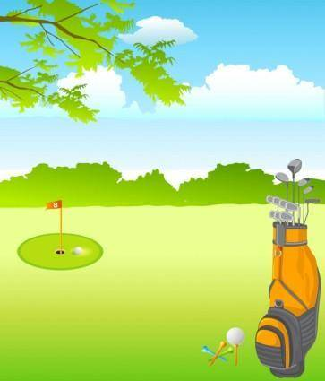 free vector Golf Vector