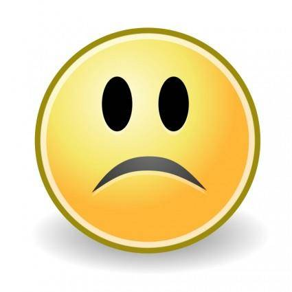 free vector Tango face sad