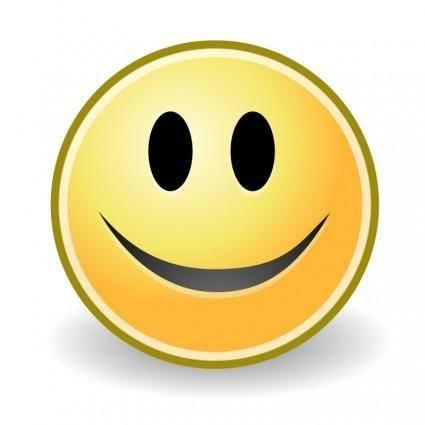 Tango face smile