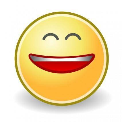 Tango face smile big