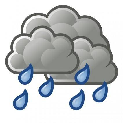 free vector Tango weather showers scattered