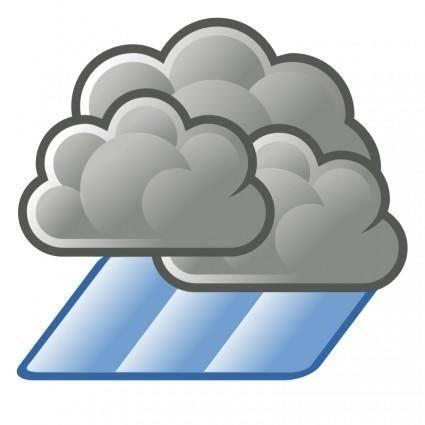 free vector Tango weather showers