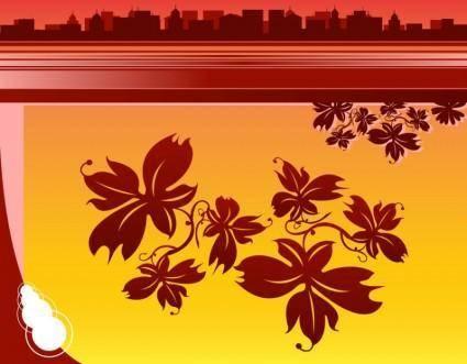 free vector Autumn City
