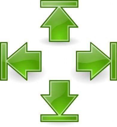 Tango green arrows set 2