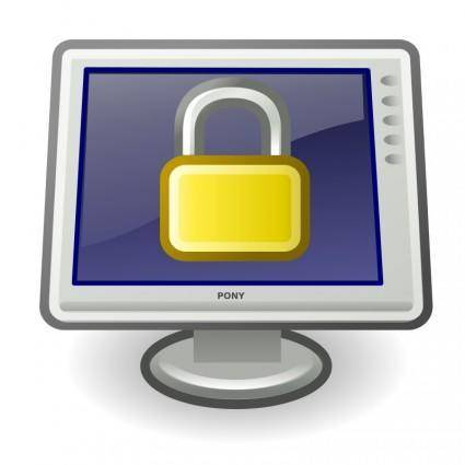 free vector Tango system lock screen