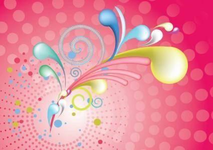 free vector 3D Swirls