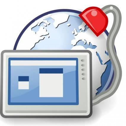 free vector Tango preferences desktop remote desktop