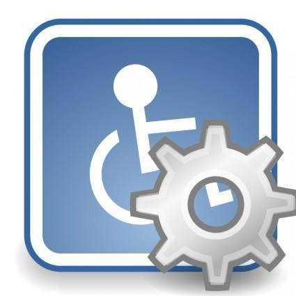 free vector Tango preferences desktop assistive technology