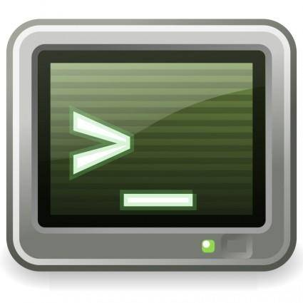free vector Tango utilities terminal
