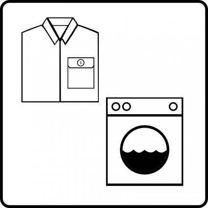 free vector Hotel Icon Has Laundry Service