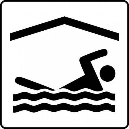 free vector Hotel Icon Has Indoor Pool