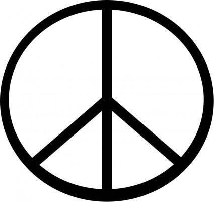 Peace symbol transparen 01