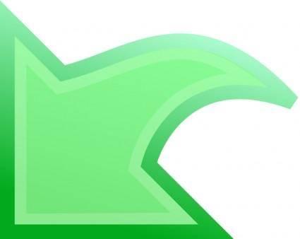 free vector Undo Green