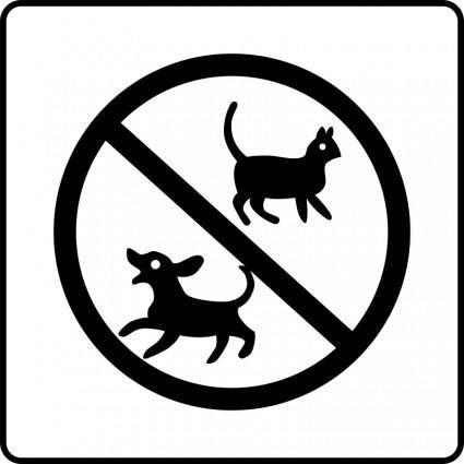 free vector Hotel Icon No Pets