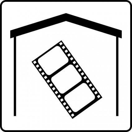 free vector Hotel Icon Has Movies In Room