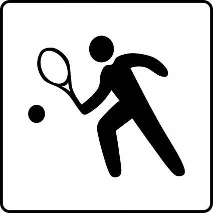 free vector Hotel Icon Has Tennis Court