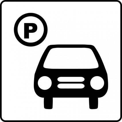 free vector Hotel Icon Has Parking