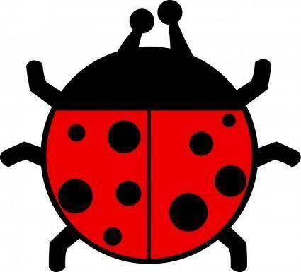 Ladybug flat colors