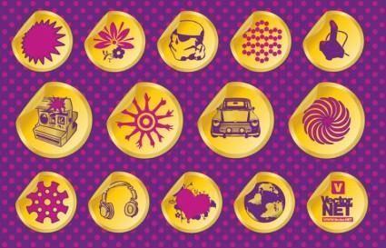 Vector Design Badges