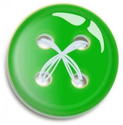 free vector Green Button Button