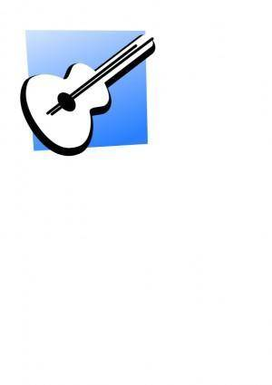 free vector Guitarra