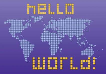 free vector Hello World
