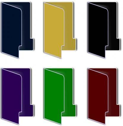 free vector Folder Icon(color)