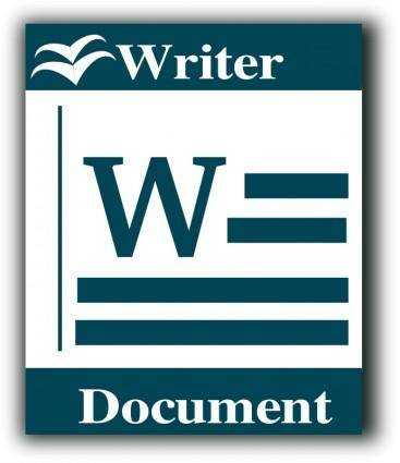 Libre Office writer icon