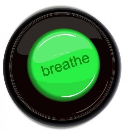 free vector Breathe icon button