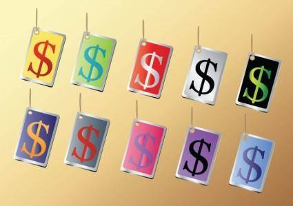 free vector Dollar Signs