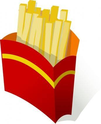 free vector Pommes frites / french fries