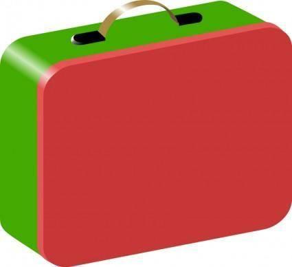free vector Children's Lunchbox