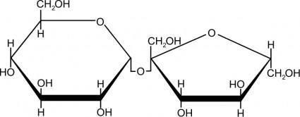 free vector Sucrose (sugar)