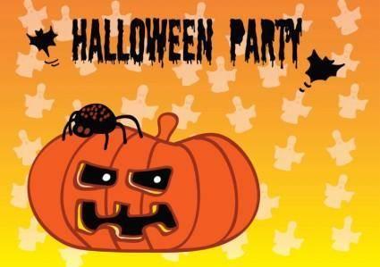 free vector Halloween Pumpkin