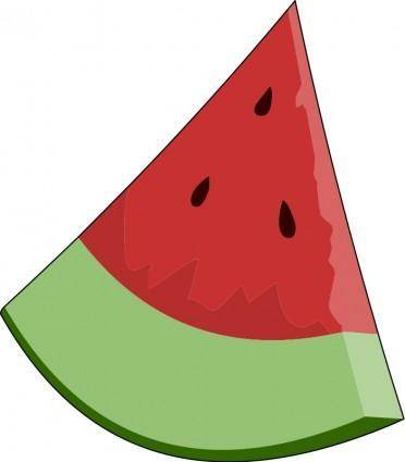 Watermelon Slice Wedge