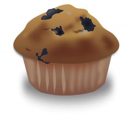 free vector Blueberry Muffin