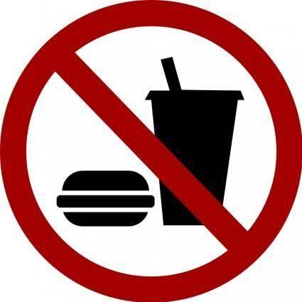 free vector No-food-drink