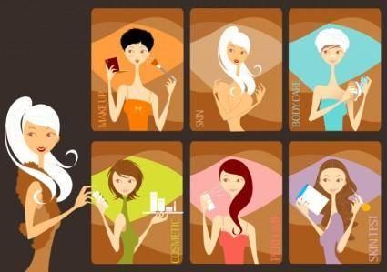free vector Beauty Salon