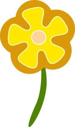 free vector Simple flower